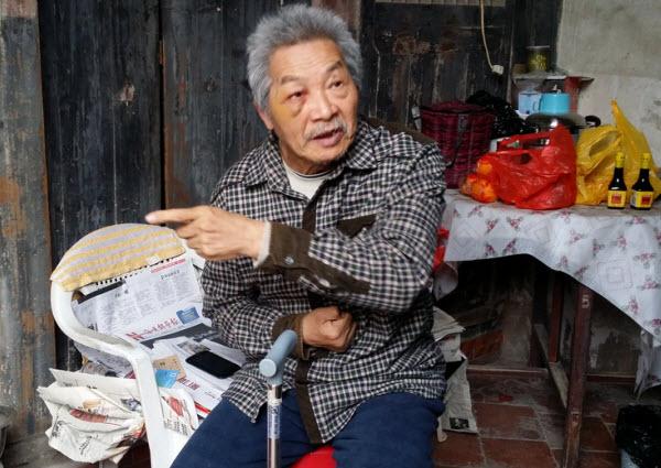 泉州考古专家刘志成中风无人照顾 社会各界送爱心